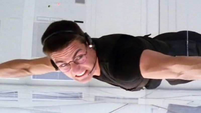 Watch the stunt that defined Mission Impossible: the heist from CIA HQ – Art of the Scene