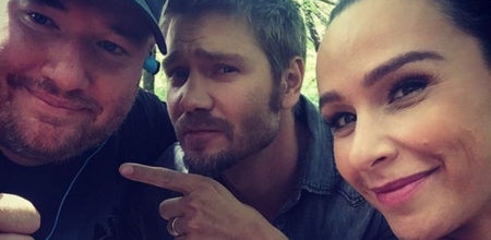Chad Michael Murray, Danielle Harris at 'Camp Cold Brook' for Andy Palmer's indie horror
